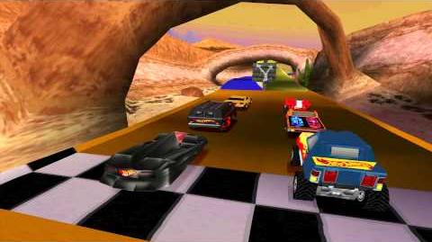 Hot WheelsTurbo Racing - Gameplay