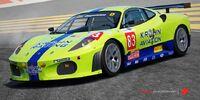 2010 83 Risi Competizione F430GT