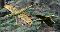 Kuehneosuchus BW