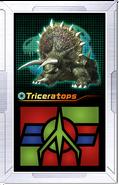 Ar-card triceratops