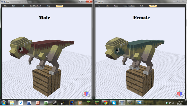 File:Pachycephalosaurus Preview.png