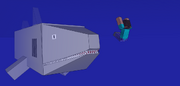 Face to face with the megalodon by poke fan 400-d5wtn5g
