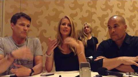 The Gifted - Stephen Moyer, Amy Acker & Coby Bell - SDCC 2017
