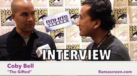 My SDCC 2017 Interview with 'THE GIFTED' Star, Coby Bell