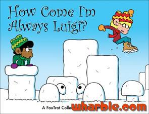 File:FoxTrot Book How Come Im Always Luigi.jpg