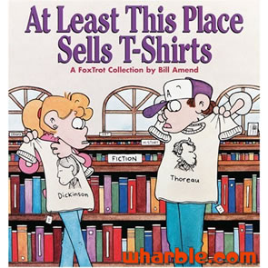 File:FoxTrot Book At Least This Place Sells T-Shirts.jpg
