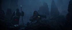 Baze aims his gun on Eadu.png