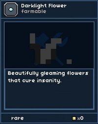 Darklight Flower