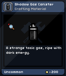 Shadow gas canister