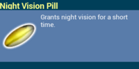 Night Vision Pill