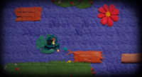 Frog minigame