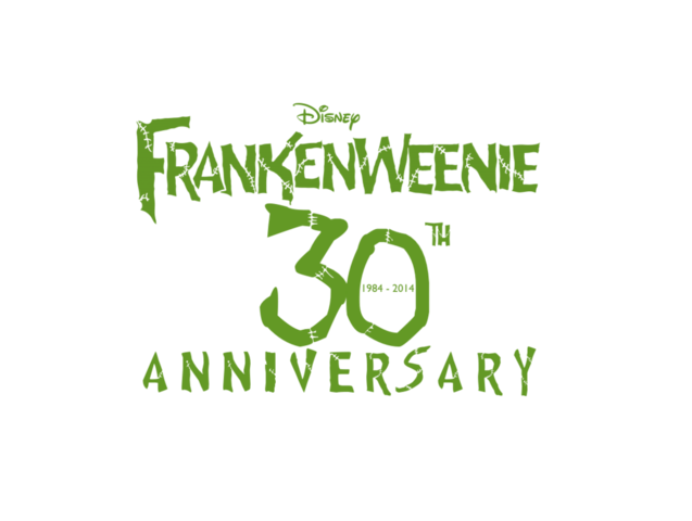File:Frankenweenie 30th anniversary logo by edogg8181804-d6wv30s.png
