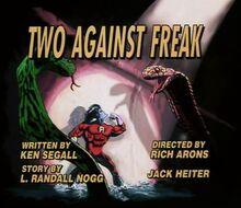 Two against freak