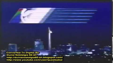 RCTI 1990 with Philips Laservision Music