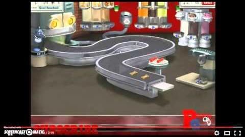Burger Shop Perfect Screen
