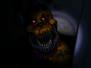 Fredbear lefthall close