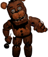 Freddy in office transparent