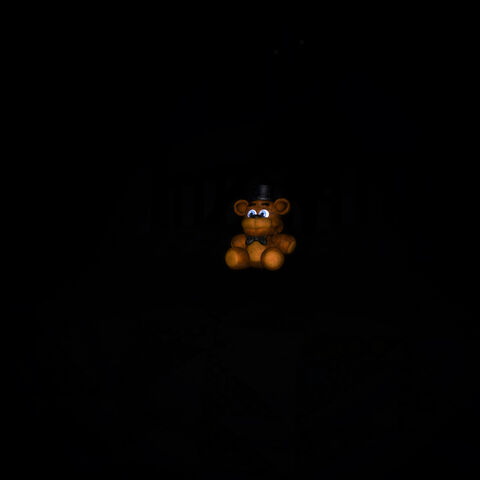 Nightmarionne in the third Halloween Edition teaser, with its eyes just a tad bit visible in the darkness.