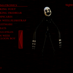 Nightmarionne in the Extras menu.