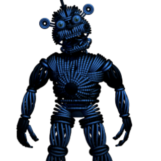 Yeendo appearing in the Funtime Auditorium with a different position.