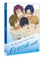 Free! Vol.6 DVD package