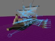 Blender demo screen trireme