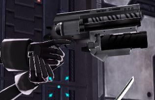 Accessory handgun