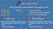 Match-Maker Mallet item