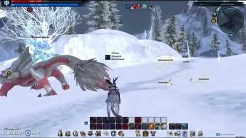 Moonpelt Running around in the snow!