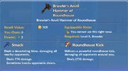 Brawler's Anvil Hammer of Roundhouse item