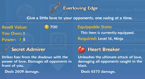 Everloving Edge item