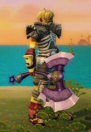 Warlord Axe held