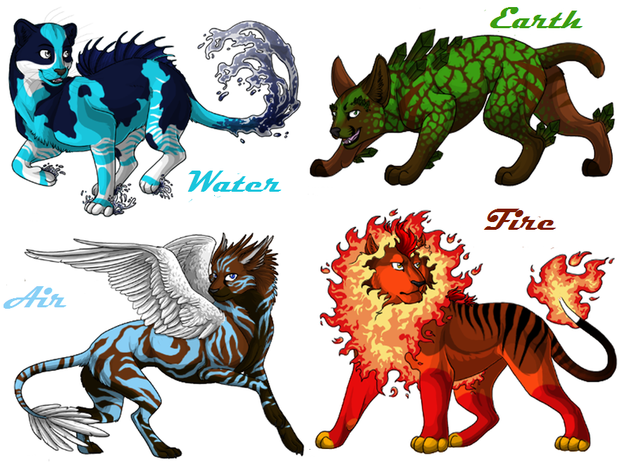 Image - Elemental cat breedables by chibiwolf1005-d4e5pgb ...
