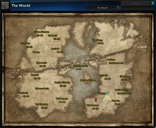 image tera world map free realms warrior cats wiki