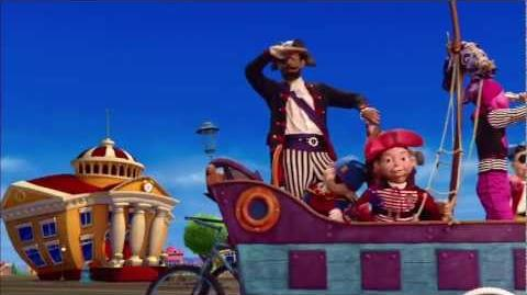 You Are A Pirate LazyTown Music Video