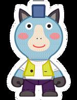 Kint doll horse