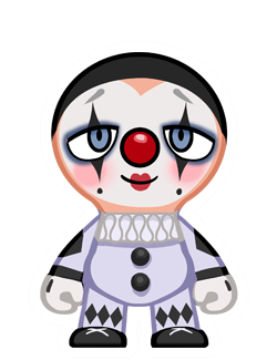 File:Clown white face.png