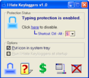 Lists of freeware antikeyloggers