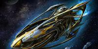 Protoss Warship