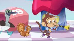Fresh Beat Band of Spies Bo Monkey Nickelodeon Nick Jr. Character (5)