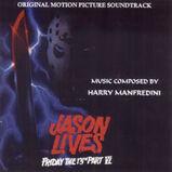 Friday The 13th Part VI - Jason Lives - Score - Front