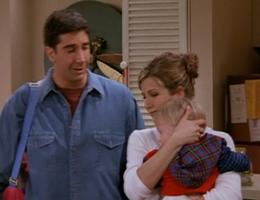 Rachel and Ross with Ben