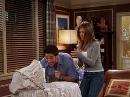 Ross and Rachel Entertaining Emma