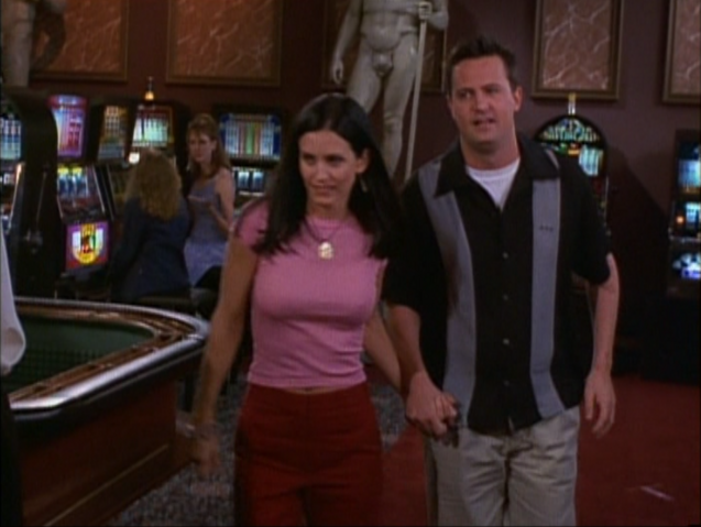 File:Monica and Chandler Holding Hands.png