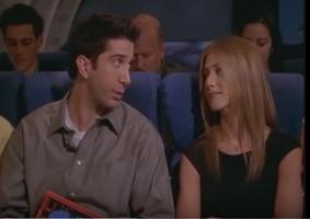 Rachel & Ross on the Plane - TOWVegas