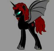 Rose Darkness' Night Form