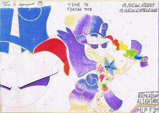 Alicorn star magic Ray
