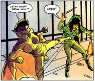 Fright Night Comics Reign of Terror Lili the Vampire Bat & Natalia Hinnault