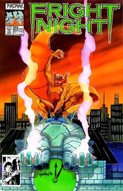 Fright Night the Comic Series 22