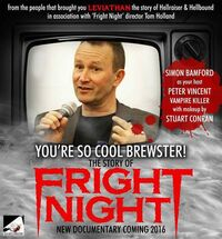 You're So Cool Brewster The Story of Fright Night - Simon Bamford
